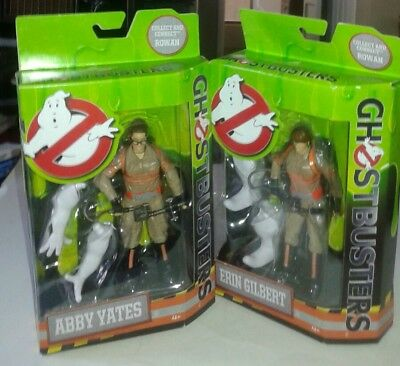 GHOSTBUSTERS 2016 Movie Lot SET Of 2 FIGURES Erin GILBERT & Abby YATES