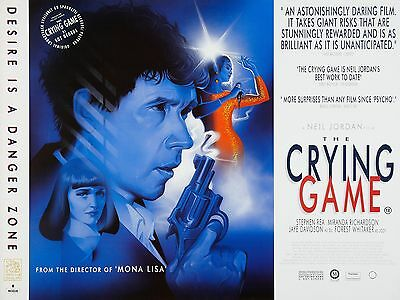 """The Crying Game 16"""" x 12"""" Reproduction Movie Poster Photograph"""