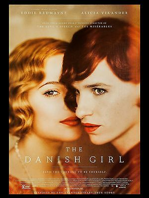 """The Danish Girl 16"""" x 12"""" Reproduction Movie Poster Photograph"""