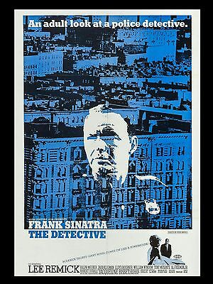 """The Detective 16"""" x 12"""" Reproduction Movie Poster Photograph"""