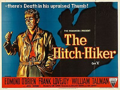 """The Hitch Hiker 16"""" x 12"""" Reproduction Movie Poster Photograph"""