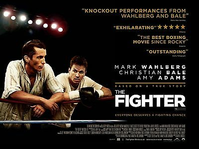 """The Fighter 16"""" x 12"""" Reproduction Movie Poster Photograph"""