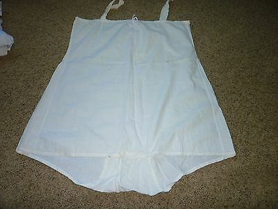 Late 1800 Early 1900  ~ Vintage ~ COTTON  UNDERWEAR  UNDER GARMENT INTIMATE