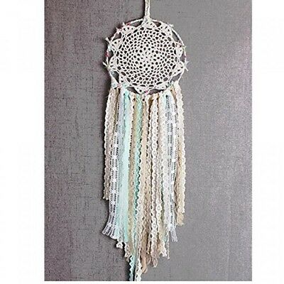 Dremisland Dream catcher Handmade Traditional White Feather Wall Hanging Car