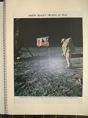 Nasa Apollo Missions 7 to 15 Scrapbook Collection Set of 3  Dating 1968-1971
