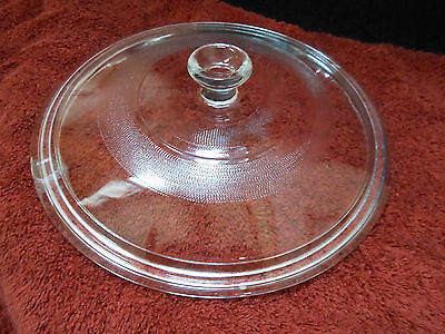 Vintage Replacement Glass Cover Lid for Your Casserole Dish