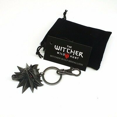 The Witcher 3 Wild Hunt Medallion video game Keychain Key Ring The Wild Hunt 3
