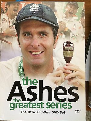 The Ashes The Greatest Series Official 3-disc Dvd Set