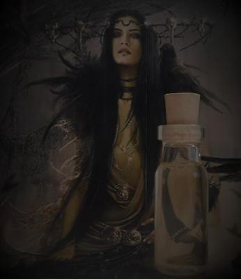 HECATE Goddess Ritual Oil Potion Anointing Oil Spells~Wicca Witchcraft Pagan