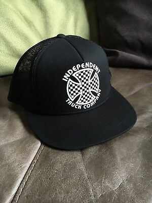 Independent Truck Co Snap Back Mesh Trucker Cap Skateboard Skate New