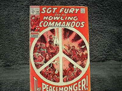 Sgt. Fury #64 Marvel Comic