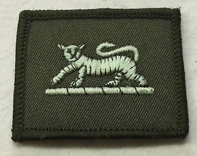 PWRR TRF Tiger Badge Flash Patch Army Military MTP Green Embroidered patch N-723