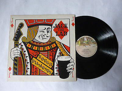 Jack The Lad ~ Rough Diamonds ~ Cas 1110 ~ 1975 Uk Folk Vinyl Lp ~ Nice Audio