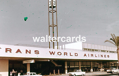 Finley's Color Lab 35mm Slide LOS ANGELES AIRPORT - PASSENGER TERMINAL - X1554
