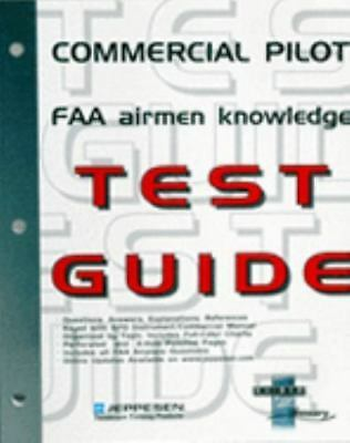 NEW - Commercial Pilot FAA Airmen Knowledge Test Guide: For Computer Testing