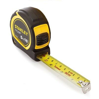 Stanley POCKET TAPE 5M/16FT 19MM Easy Reading Top Quality By Stanley New