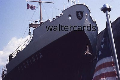 35mm Slide lot 1960s 1967 SS GLOXINIA ? ship boat Expo 67 Montreal Quebec