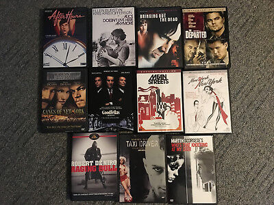 Martin Scorsese DVD Collection - 11 Movies - Like New - Goodfellas, Mean Streets