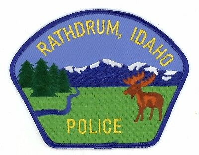 Rathdrum Police Department Idaho Vintage Issue