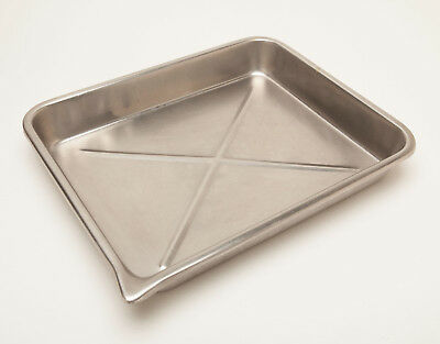 Photo Developing Trays - 12x15 STAINLESS STEEL - Commercial Grade - 3 Available