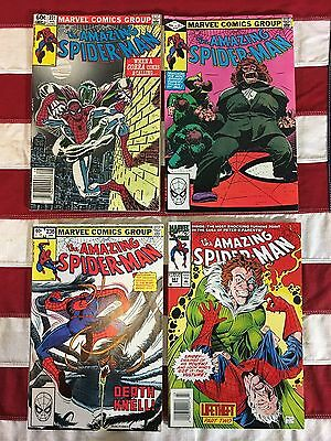 Marvel Comics Amazing Spider-Man # 231, 232, 236, 387, Lot of 4