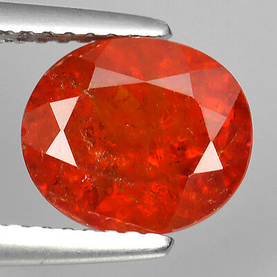 3.15 Ct Unheated Wonderful Natural Spessartite Garnet Oval Cut Loose Gemstones