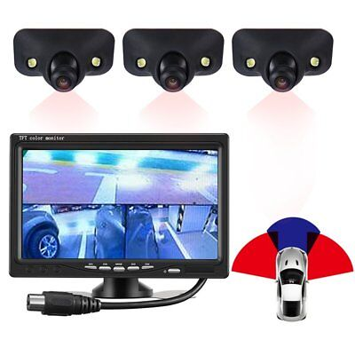 170° HD Waterproof Car Front Side Rear View Blind Spot Camera 2 LED Night Vision