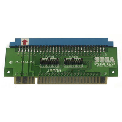 Sega System 16 / 24 to JAMMA Adapter Arcade with button remapper