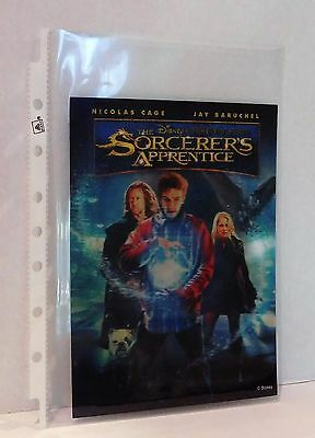 THE SORCERER'S APPRENTICE Disney Movie Club 3D Lenticular Card Rare Collector
