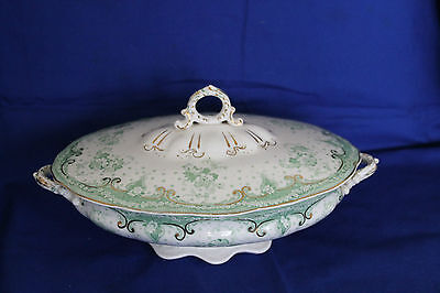 Alfred Meakin Selwyn Royal Semi porcelain Lidded Serving dish