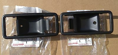 Landcruiser FJ45,HJ45,HJ47,BJ40,BJ42 Door Handle Bezel 1975-1984 Genuine Toyota.