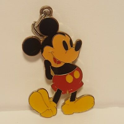 "Vintage1970's Mickey Mouse Walt Disney World Chain Pendant 2""1/4 tall  ( Rare )"