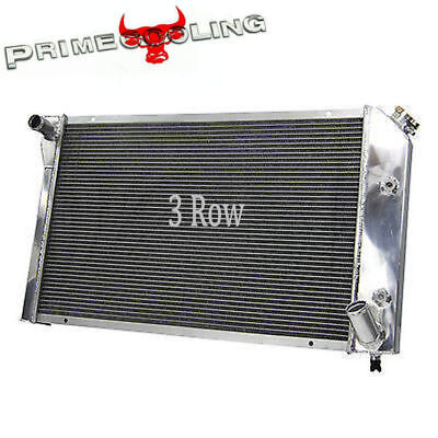CC718 3 Rows ALL Aluminum Radiator 1977 78 79 80 81 1982 CHEVY CORVETTE 5.7L V8