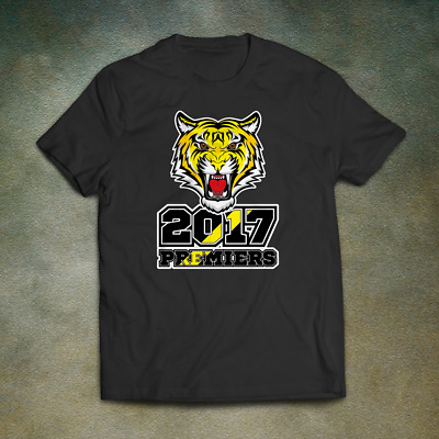 Richmond Tigers 2017 Premiers T-Shirt - Grand Final Australian Football Footy