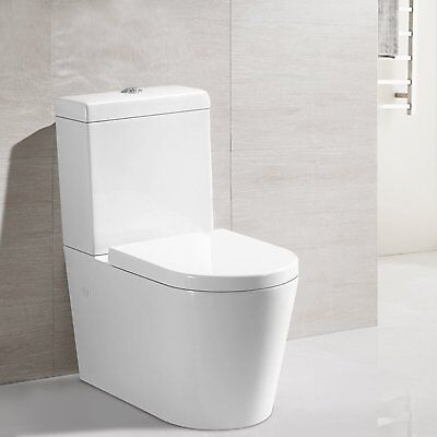 Toilet Suite Ceramic Soft Close Seat Back To Wall Washdown S Trap