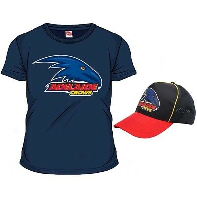 Adelaide Crows AFL Mens Supporter T-Shirt Tee BNWT Footy Clothing