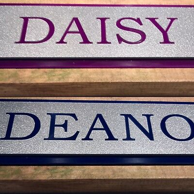 His and Hers stable door horse name plate sign plaque-listing for 1 off Only
