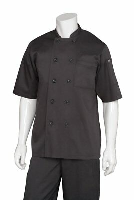 Chef Works Men's Chambery Chef Coat BLSS