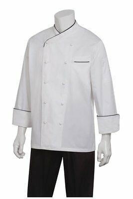 Chef Works Men's Monte Carlo Executive Chef Coat ECCB