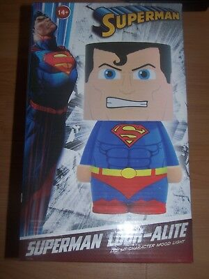 Lampe led super man superman neuve