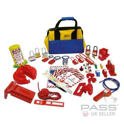Basic Electrical / Valve / Cylinder Pneumatic Lockout Tagout Kit