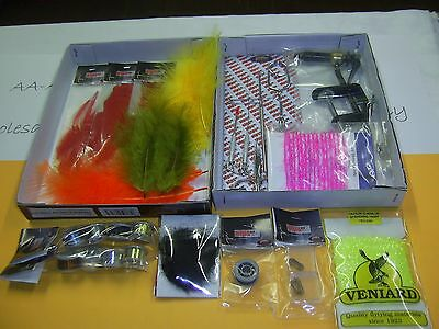 Fly tying starter outfit,Beginners Kit, Plus Extra Material, Great Deal for Xmas