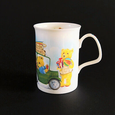 Vintage Roy Kirkham Bone China Mug - Vintage Teddies 1993