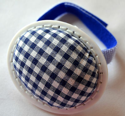 Pin cushion Pincushion with touch fastener blue