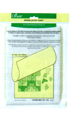 Schneider fleece Non-woven adhesive for Design by pattern Clover 473 145 x 150