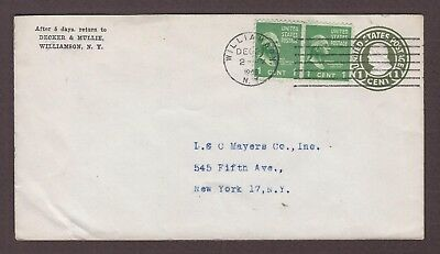 mjstampshobby 1946 US Vintage Cover Used (Lot4818)