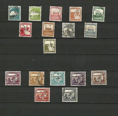 Palestine - 2 Sets Of High Value Stamps  - Used
