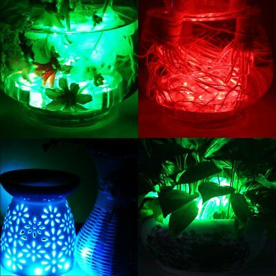 2PC Swimming Pool Light RGB LED Bulb Remote Control Underwater Color Submersible