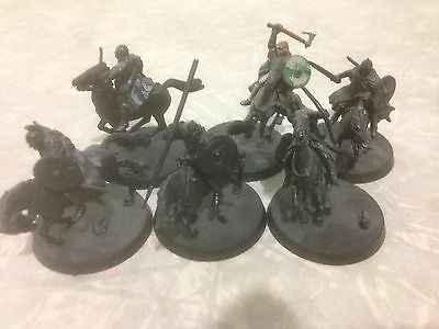 Lord of the rings LOTR The Hobbit 6 Riders Of Rohan Rohirrim Horses Warhammer GW