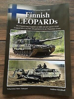 Tankograd 8005  International Special Finnish Leopards